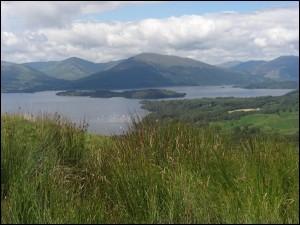 Conic Hill Wanderung in Schottland