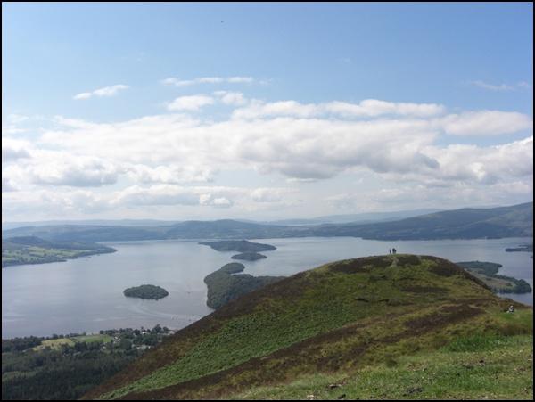 Schottland Loch Lommond