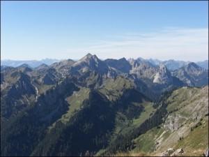 Gipfel Klammspitze