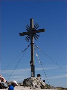 Gipfelkreuz Ammergauer Alpen
