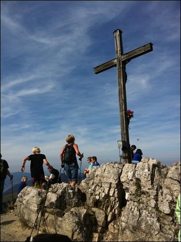 Gipfelkreuz Brecherspitz