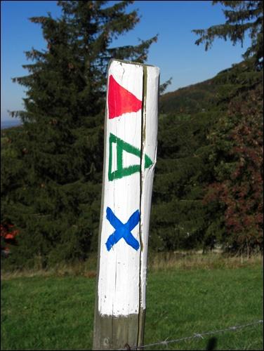 Rhön Wanderzeichen