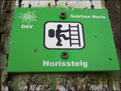 Gipfelbuch: Norissteig