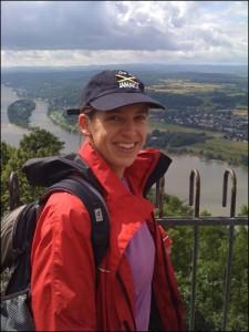 Gipfelglück auf dem Rheinsteig