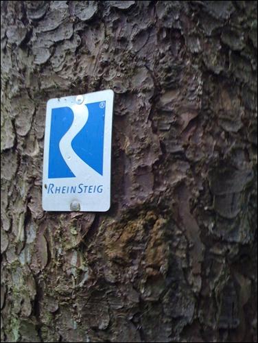 Wanderzeichen Rheinsteig
