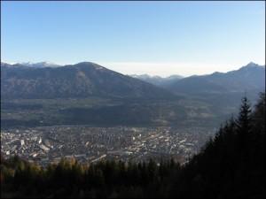 Blick auf Innsbruck Tirol