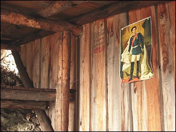 Die Berghütte am Kofel