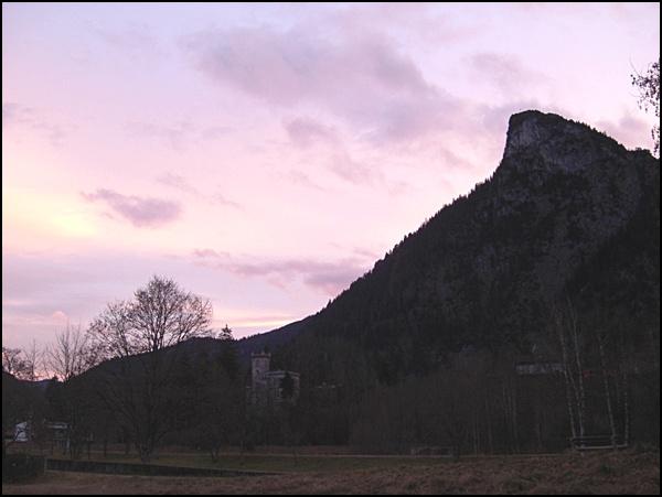 Kofel in den Ammergauer Alpen