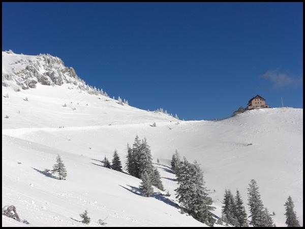 Rotwand und Rotwandhaus im Winter
