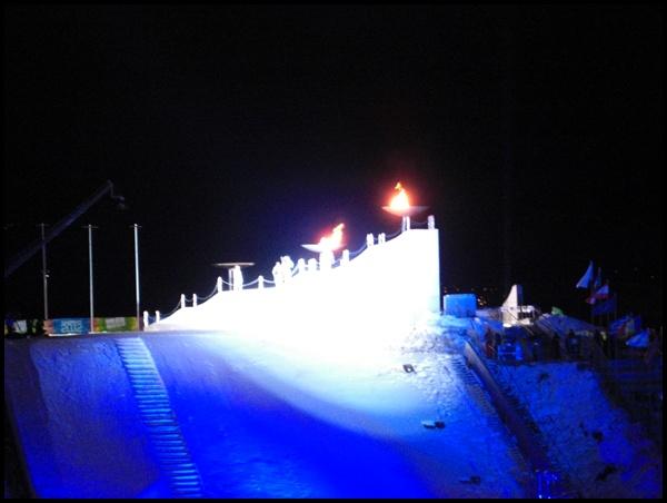 Olympisches Feuer Innsbruck YOG
