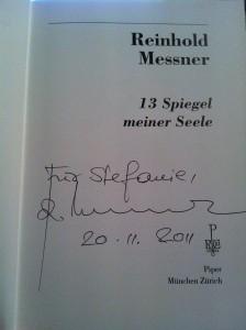 13 Spiegel meiner Seele von Reinhold Messner