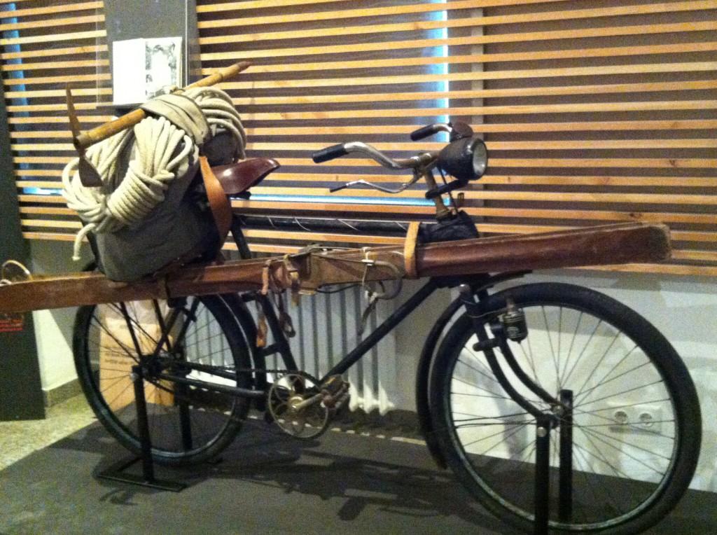 Fahrrad im Alpinen Museum