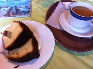 Kuchen essen Schlipfgrubalm