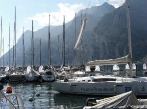 Segelboote am Gardasee