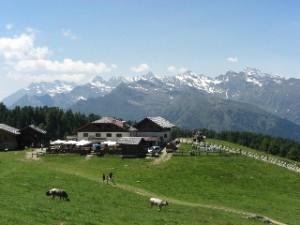 Hirzer Hütte, E5 Tour