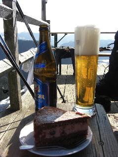 Gipfelbuch: Winterwanderung Hochgern