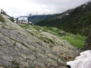 Zufallhütte in Südtirol