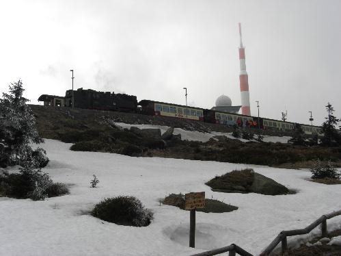 Brocken, einer der 16 summits