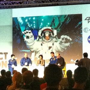Astronauten twittern