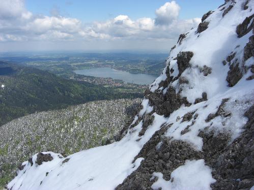 Hirschberg: Blick auf den Tegernsee