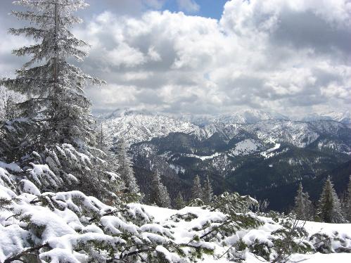 Blick vom Hirschberg nach Süden