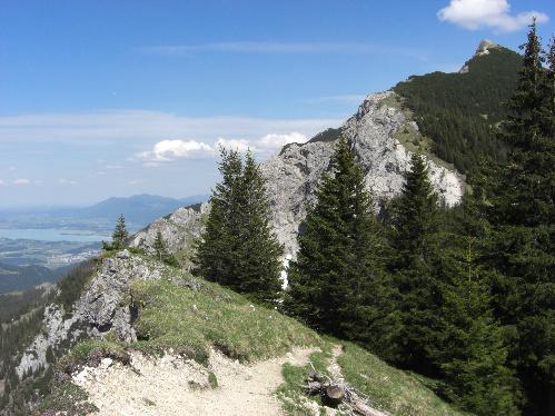 Tag 2 im Tannheimer Tal: Brentenjoch und Roßberg