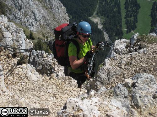 Friedberger Klettersteig : Wanderurlaub im tannheimer tal mit friedberger klettersteig