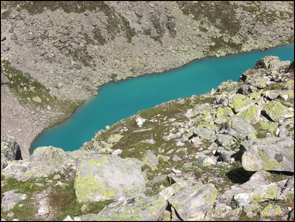 Bergsee an der Kaunergrathütte am E5