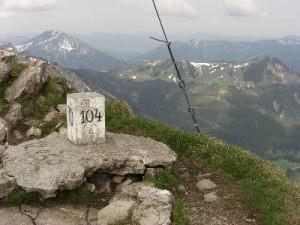 Aggenstein Gipfel Tannheimer Tal