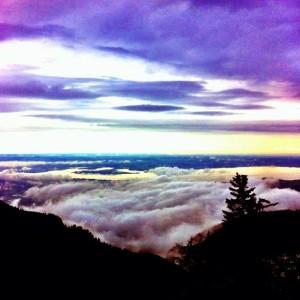Wolken am Hochgern