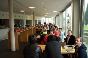 Barcamp Bodensee am Samstag morgen
