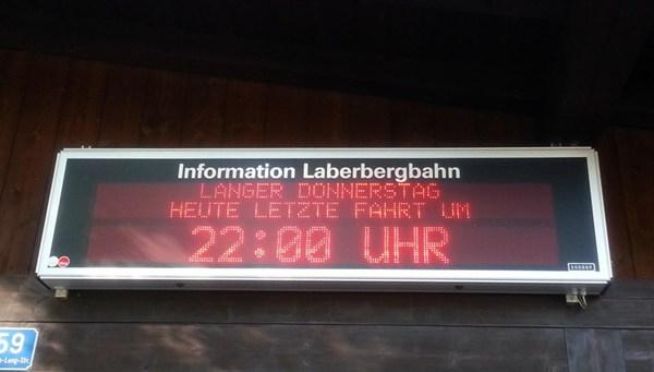 Münchner Hausberge: Feierabend-Tour zum Laber
