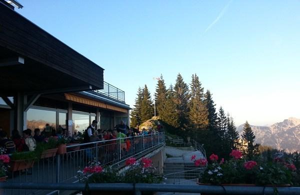 Abendessen auf der Laber-Terrasse | 2013
