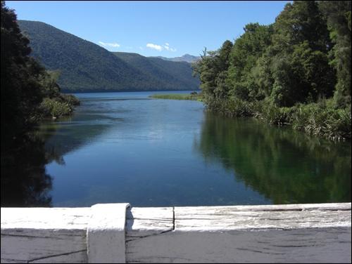 Lake Rotoroa Neuseeland