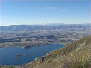 Lake Wanaka vom Roys Peak Neuseeland