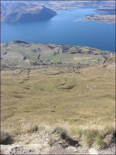 Wanderung Roys Peak Neuseeland