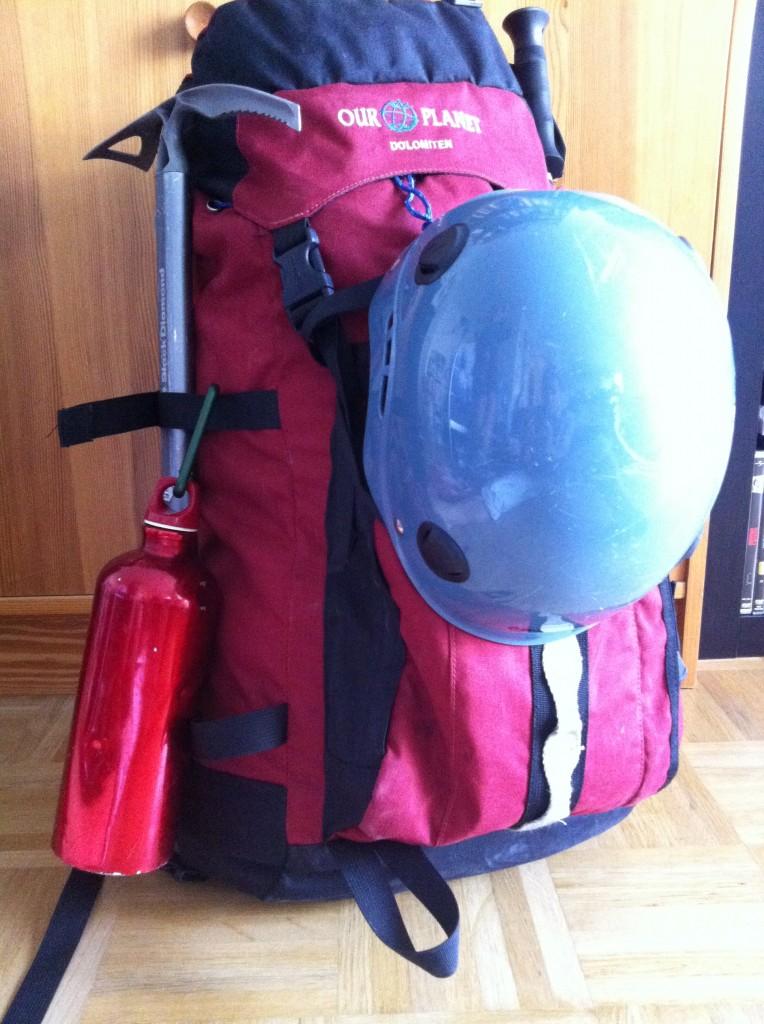 Gepäck Gletschertour