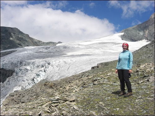 Gletscher Großglockner