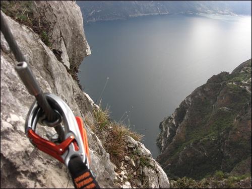 Klettersteig Fausto Susatti mit Cima Capi am Gardasee