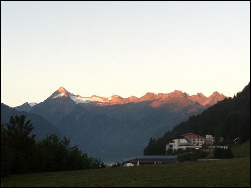 Sonnenaufgang Kitzsteinhorn