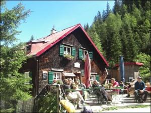 Hütte im Höllental