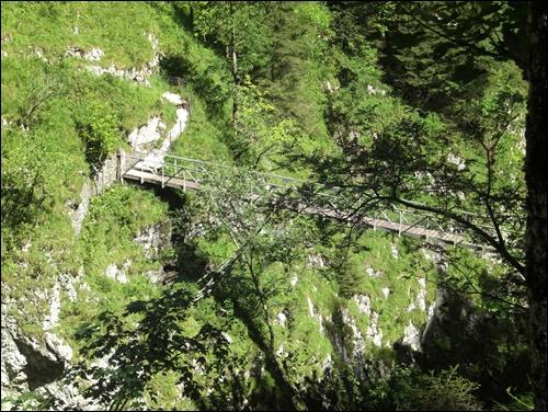 Gipfelbuch: Höllentalklamm und Stangensteig