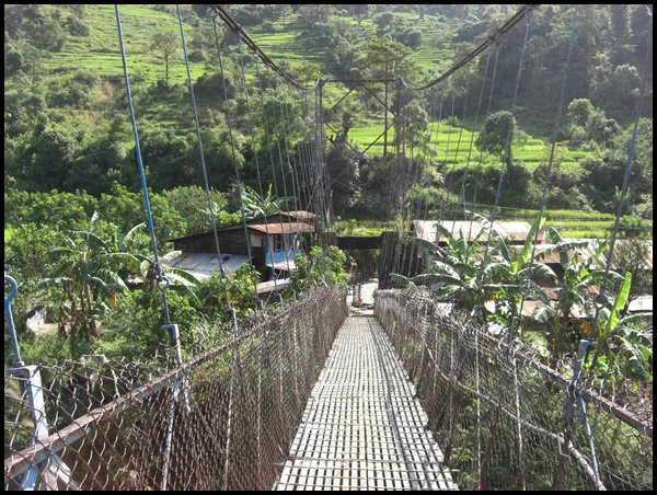 Hängebrücke Nepal