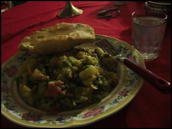 Abendessen Nepal