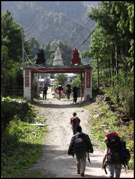 Chame, Nepal