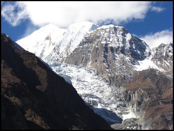 Gangapurna Icefall Nepal