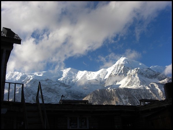 Morgenstimmung im Himalaya Nepal