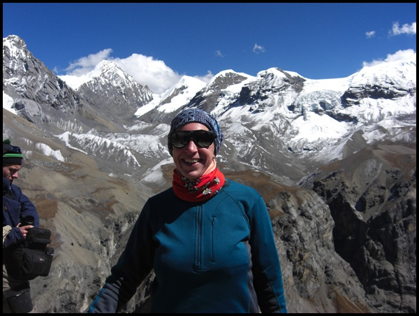 Gipfelglück am Highcamp Nepal