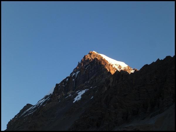 Sonnenaufgang Thorung La