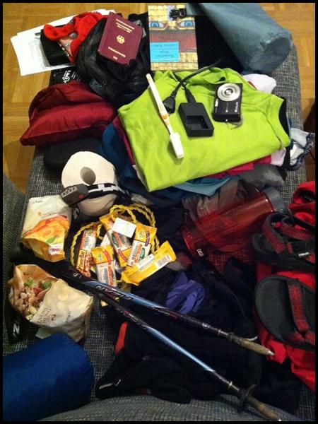 Packliste Nepal